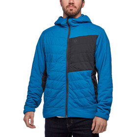 Black Diamond First Light Stretch Hoody Men, kingfisher/black